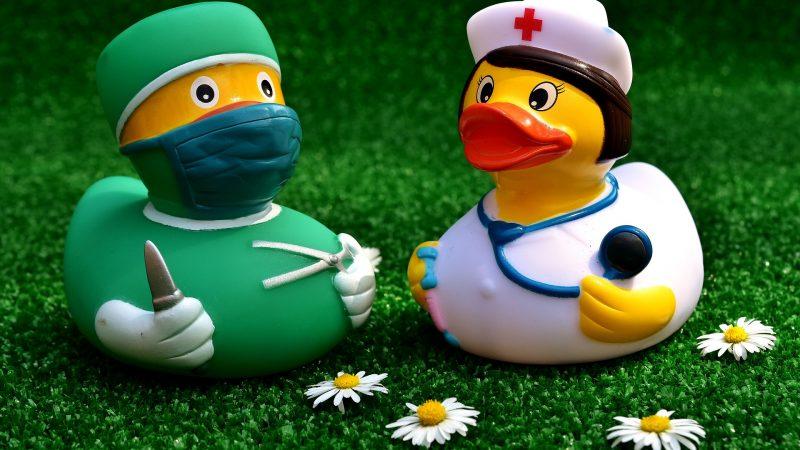 Erotikspiele in Klinikatmosphäre
